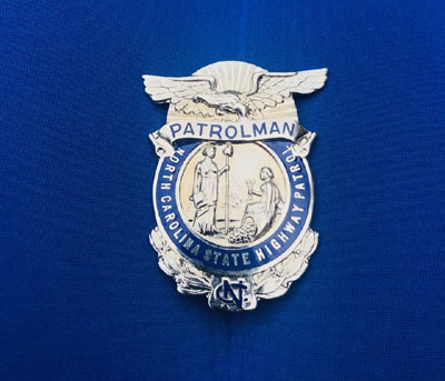 Limited Edition Reproduction Patrolman Badges