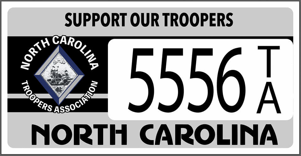 NCTA License Plate